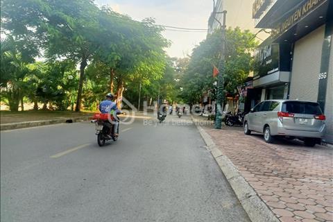 Bán nhà mặt phố ngã tư Vũ Phạm Hàm - Nguyễn Khang 160m2, 7 tầng, mặt tiền 8m giá 33 tỷ