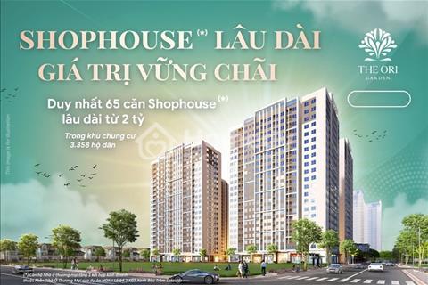 Nhận giữ chỗ 50 triệu/căn shophouse có hoàn lại - Trong khu chung cư 600 dân