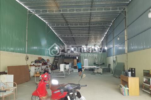 Xưởng mới to đẹp 400m2 Thạnh Lộc, Q12 ngay ngã Tư Ga