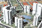 Khu nhà ở chung cư trong dự án được xây dựng với 8 khối nhà có khoảng 15 - 20 tầng đáp ứng nhu cầu sinh sống với mức chi trả thấp cho nhiều đối tượng dân cư trong khu vực.