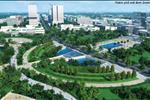 Khi hoàn thành xây dựng, khu đô thị mới này sẽ trở thành một thành phố thương mại, công nghệ và dịch vụ với các tiêu chuẩn thiết kế đô thị hiện đại thân thiện với môi trường.