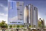 Thiết kế chung cư The Garden Hill gồm 2 tòa tháp: Tòa tháp A cao 25 tầng, tòa tháp B cao 29 tầng.