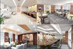 Hệ thống phòng họp được bố trí điều chỉnh diện tích phòng linh hoạt trong một không gian rộng phù hợp cho tất cả các hội nghị, hội thảo lên tới 150 người.