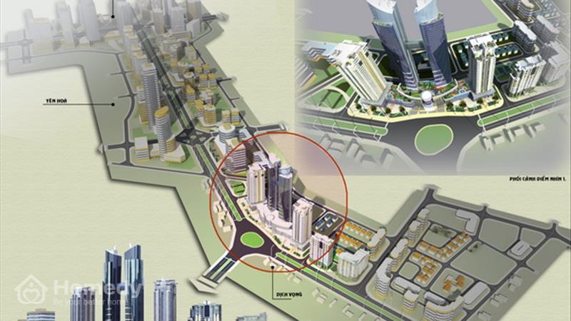 Dự án N04B1 Dịch Vọng - Khu đô thị mới Dịch Vọng Hà Nội - ảnh giới thiệu