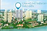 Dự án đã tận dụng tối đa cảnh quan thiên nhiên sông nước bao quanh khu Thảo Điền, kết hợp với thiết kế hiện đại và được chấm phá thêm những khoảng xanh trên cao theo các tầng để hình thành hai khối tháp cao.