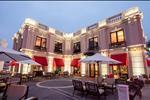 Khu phức hợp Ẩm thực - Giải trí ALMAZ  tại Khu đô thị Vinhomes Riverside là địa chỉ lý tưởng để tổ chức các sự kiện sang trọng, thưởng thức những món ăn tinh túy nhất của Việt Nam và các nước trên thế giới.
