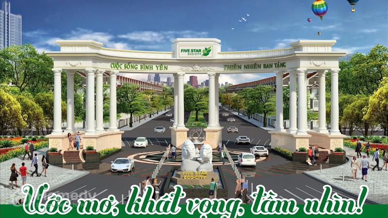 Dự án Khu đô Thị Five Star Eco City Long An - ảnh giới thiệu