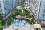 Toàn cảnh dự án Times City Park Hill nhìn từ trên cao xuống.