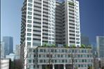 Căn hộ được xây dựng trên diện tích 3224 m2, bao gồm 2 block, với 125 căn hộ, diện tích các căn hộ đa dạng từ 84 m2 đến 144 m2.