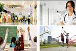 Hệ thống giáo dục, chăm sóc sức khỏe, trung tâm thương mai, vui chơi giải trí đa dạng và chất lượng giúp nâng cao đời sống tinh thần cho cư dân.