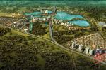 Dự án được ôm trọn trong vòng tay xanh mát và thanh bình của hồ nước tự nhiên cùng với cảnh quan tuyệt đẹp.
