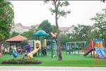 Khu vui chơi của trẻ luôn được chú trọng trong từng khâu thiết kế, với những trò chơi lý thú đảm bảo cho trẻ phát triển cân bằng về đức - trí - thể - mỹ.