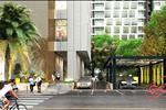 Phong cách thiết kế tinh tế, khoảng đạt của khu sảnh tòa nhà đem lại cho người xem cái nhìn thiện cảm.