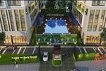 Chung cư Five Star Garden được thiết kế độc đáo gồm 4 tòa tháp, với hồ bơi được bố trí ở giữa tạo thành một không gian sống lý tưởng dành cho các cư dân sinh sống tại đây.
