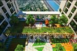 Hệ thống vườn trên cao tại tầng 25 chính là nơi sinh hoạt cộng đồng lý tưởng cho cư dân của Five Star Garden.