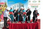 Ngày 08/06/2010, chủ đầu tư cùng các đơn vị hợp tác tiến hành tổ chức Lễ cất nóc và hoàn thành phần thô tòa nhà Thiên Nam Apartment tại tầng thượng tòa nhà Thiên Nam Apartment. Công trình được thực hiện vượt tiến độ gần 1,5 tháng so với dự kiến vào ngày 20/07/2010.