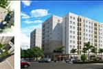 Khu nhà ở xã hội Bamboo Garden bao gồm hai tòa chung cư, mỗi tòa cao 9 tầng với các căn hộ có diện tích dao động từ 48 m2 đến 66 m2. Sự đa dạng về diện tích này đã tạo điều kiện cho người mua thuộc diện thu nhập thấp có nhiều cơ hội lựa chọn.