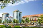 Trung tâm thương mại của dự án nằm tại vị trí thuận lợi, đáp ứng nhu cầu mua sắm và giải trí của cư dân.