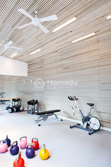 Phòng tập gym trong văn phòng