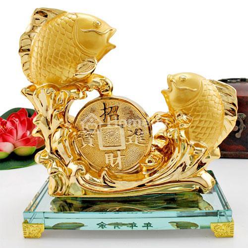 Cá Chép là biểu tượng của sự thăng tiến, công danh, sức khỏe và tài lộc