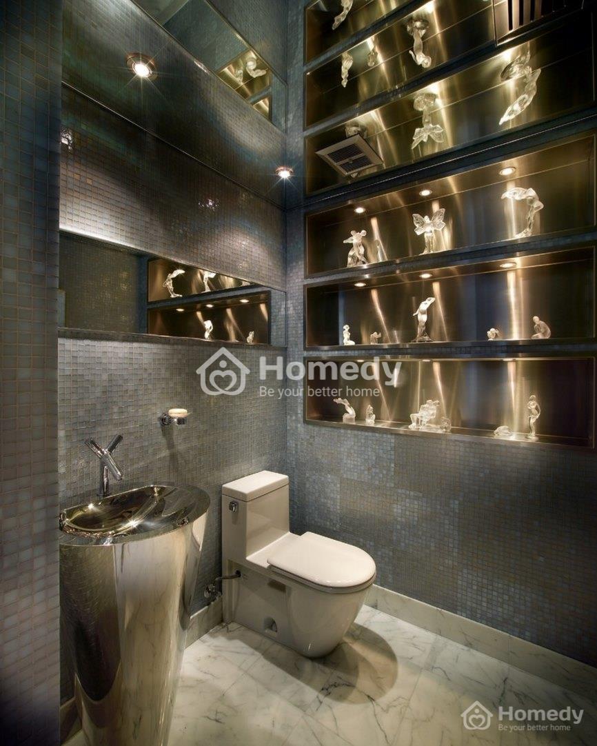phòng tắm thơm tho