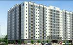 Khu căn hộ gồm 12 tầng nổi và 01 tầng hầm, cung cấp cho thị trường 352 căn hộ 02 phòng ngủ.