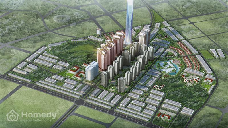 Dự án Khu đô thị mới Văn Phú Hà Nội - ảnh giới thiệu