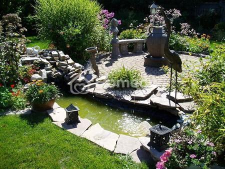 sân vườn độc đáo