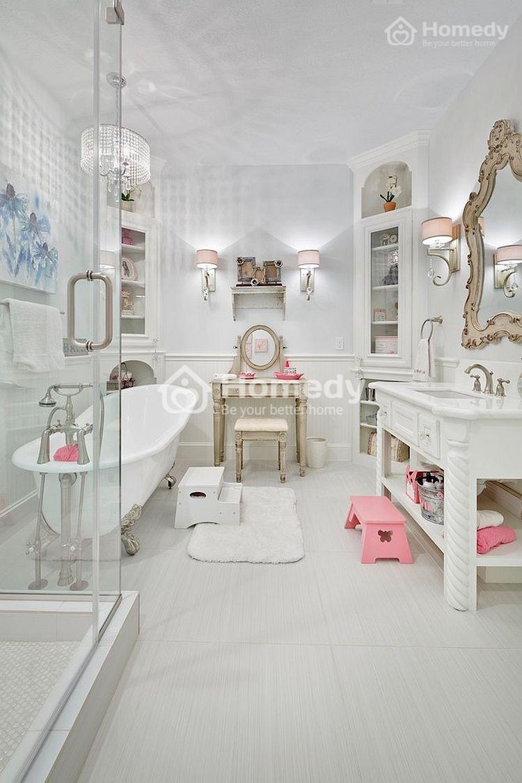 phòng tắm thanh lịch