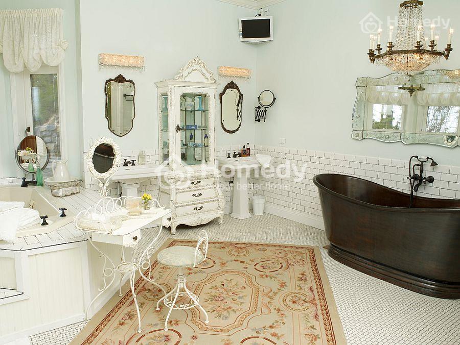 Phòng tắm quyến rũ