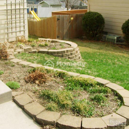 sân vườn giản dị