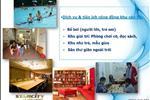 Ngoài ra, dự án có đầy đủ tiện ích cho một cuộc sống hiện đại như: Bể bơi, phòng tập gym, spa, phòng đọc sách, nhà trẻ… Với các căn hộ cao cấp cùng hệ thống tiện ích hoàn thiện, chung cư Star City hứa hẹnsẽ đem tới cho các cư dân một cuộc sống tiện nghi và chất lượng.