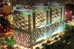Phối cảnh dự án căn hộ Charmington La Pointe dưới trời đêm thành phố
