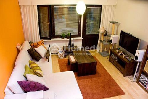 Phòng khách chung cư mini