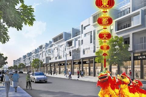 Khối nhà phố - Khu thương mại Đông Đô Đại Phố