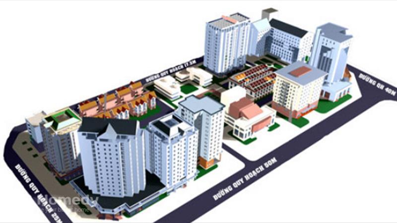 Dự án Khu đô thị mới Yên Hòa Hà Nội - ảnh giới thiệu