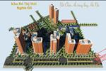 Phối cảnh tổng thể dự án Khu đô thị Nghĩa Đô