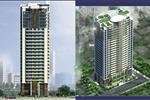 Tổ hợp văn phòng thương mại dịch vụ và căn hộ chung cư Packexim 2 tọa lạc trên khu đất thuộc phường Phú Thượng, quận Tây Hồ, Hà Nội.