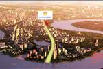 Dự án The Sun Avenue trải dài hơn 500 m mặt tiền Đại lộ Mai Chí Thọ - tuyến đường huyết mạch kết nối phía Đông và phía Tây của Thành phố.