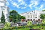 Các cư dân tại đây còn có cơ hội tản bộ, thư giãn trong hệ thống khuôn viên cây xanh được thiết kế bao xung quanh dự án.