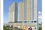 Kiến trúc với hai tòa tháp song song hình khối chữ nhật là nét nổi bật dễ nhận biết của khu căn hộ River Gate.
