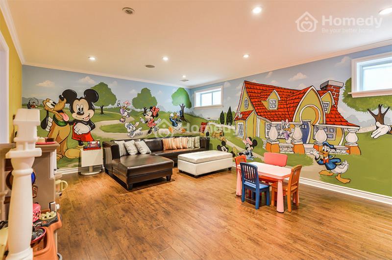 phòng chơi cho trẻ