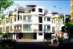 Khu dân cư Vhome được thiết kế và xây dựng trên khuôn viên 26.751 m2, bao gồm 2 block chung cư 15 tầng và 98 căn nhà phố liên kế phong cách Châu Âu.