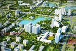 Phối cảnh toàn nhà Charmvit Tower nằm trong khu đô thị Đông Nam Trần Duy Hưng