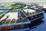 Nhà hàng tại khu đô thị Nam Vĩnh Yên được xây dựng và thiết kế linh hoạt ngay trong khu đô thị.