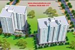 Khu nhà ở HQC Phú Tài được xây dựng trên diện tích 16.315 m2, bao gồm 2 block, 14 tầng, mang đến nhiều không gian sinh sống hiện đại cho cư dân.