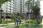 Khu vui chơi trẻ em với không gian cây xanh thoáng đãng bao quanh mang đến cho các bạn nhỏ nơi đây một địa điểm thư giãn lý tưởng.