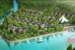 Khu Resort tọa lạc tại vị trí 3 mặt là sông nước.