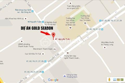 Dự án hàng đầu quận Thanh Xuân GoldSeason, phong cách Mỹ, đẳng cấp sang trọng, giá 30tr/m2 full nội thất