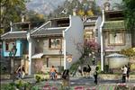 Dự án nhà phố thương mại được thiết kế đơn giản, tinh tế và sang trọng, mang đường nét cổ điển kiểu Pháp không kém phần mộc mạc trong khung cảnh núi rừng Sapa.
